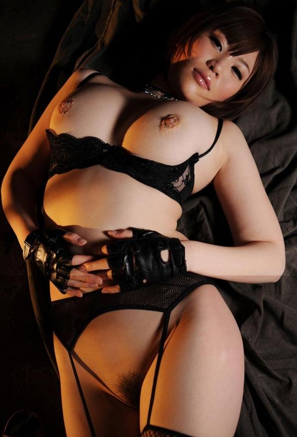 黒の下着画像-12