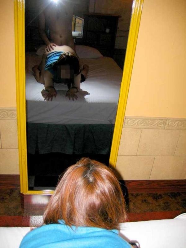 素人のラブホハメ撮り画像-37