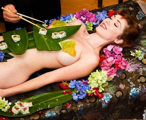 女体盛り画像-66