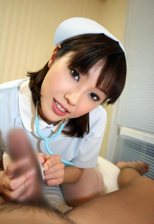 ナース 手コキ画像-9