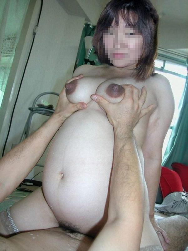妊婦のセックス画像-26