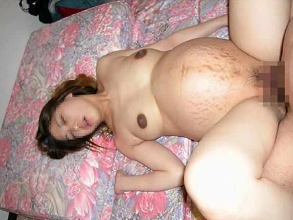 妊婦のセックス画像-7