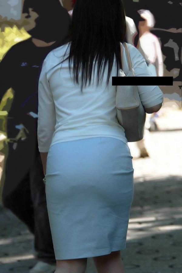 素人の透けパン画像-33
