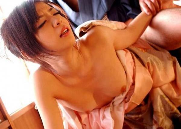 和服のセックス画像-17