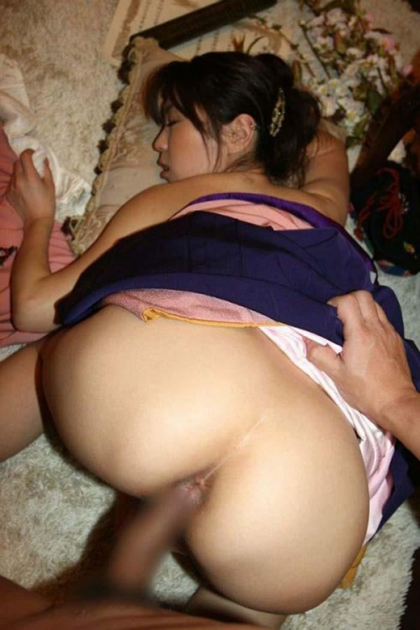 和服のセックス画像-21