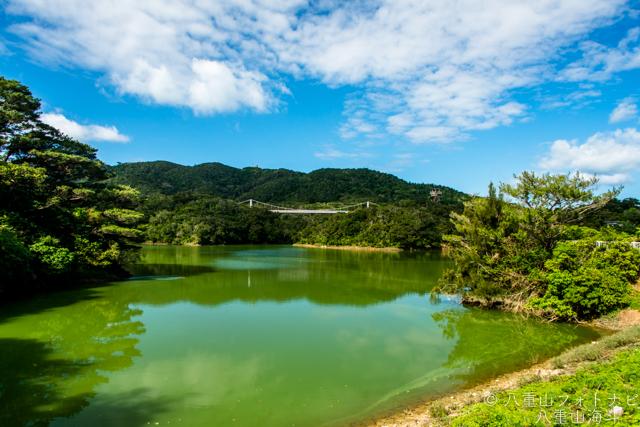 石垣島 ダム巡り 石垣ダムの風景