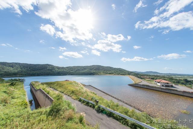 石垣島 日本最西端の名蔵ダム ダム巡りの旅その2