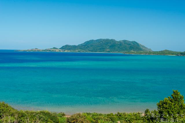 石垣島 石垣島北部の のんびりした風景