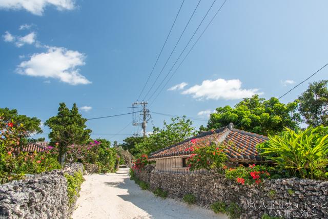 竹富島集落の散歩