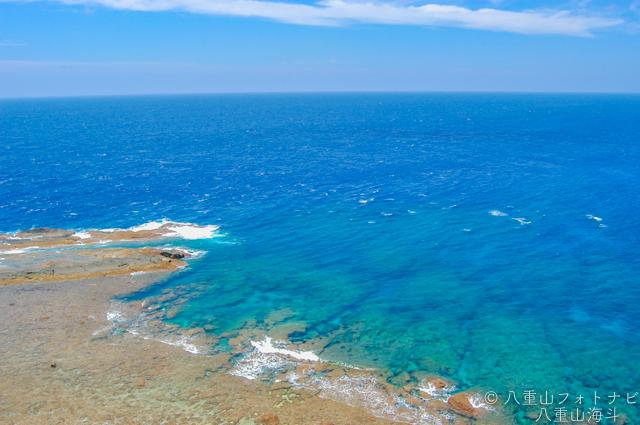 2006/5 西崎からの珊瑚礁