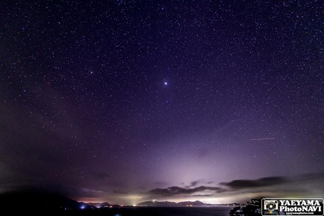 石垣島 4月後半の星空の写真