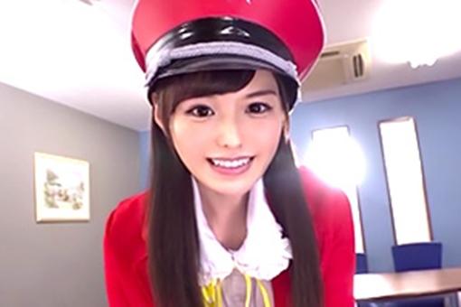 橋本ありな アイドル級美少女のコスプレきたー!美脚最高だな。