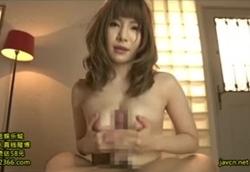目隠し拘束M男責め!亀頭弄り手コキ&パイズリ挟射!葵2