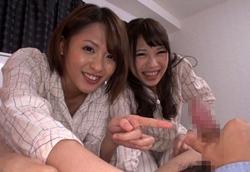 義理の妹たちにオナニーを見られ小便をぶっかけられる!夏目優希 沙藤ユリ2