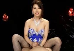 淫語美熟女羽田璃子の亀頭責め&男の潮吹き!1