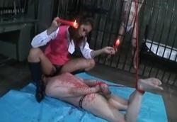 【M男】美人長身拷問官 元部下OLに拷問調教される男達…1