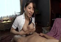 巨乳エステティシャンの痴女テクマッサージに絶頂射精!三島奈津子1