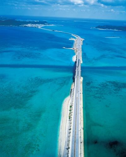 海中道路満潮