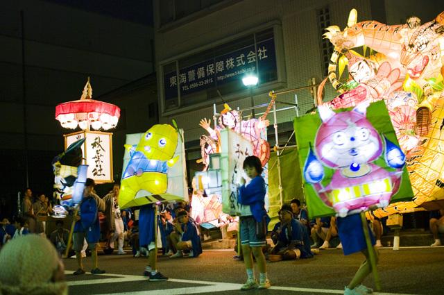 天下の奇祭愛知県刈谷市の万燈祭の子どもたち
