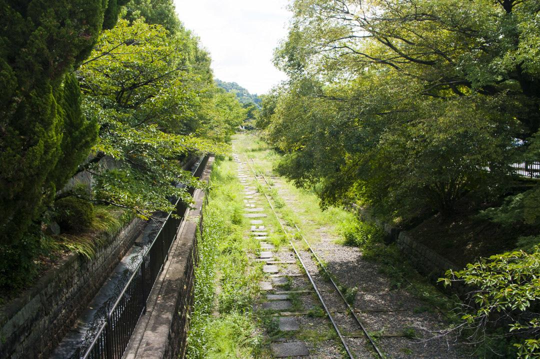 蹴上駅から京都市動物園までの経路