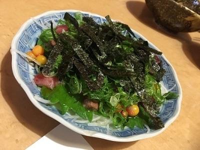 スッポンサラダ