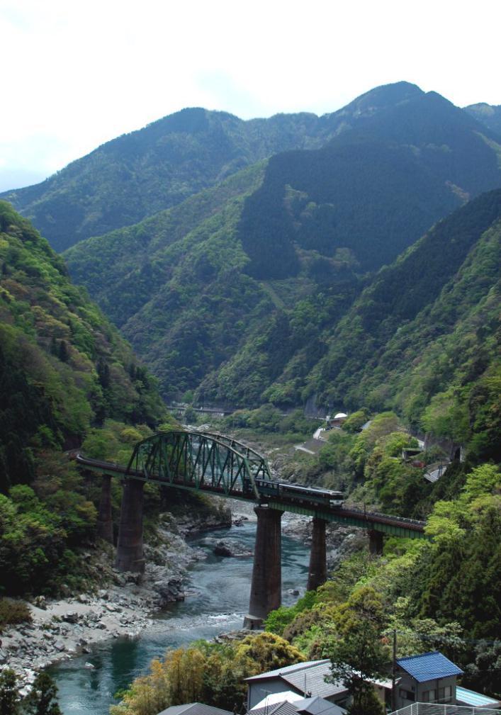 吉野川渓谷2