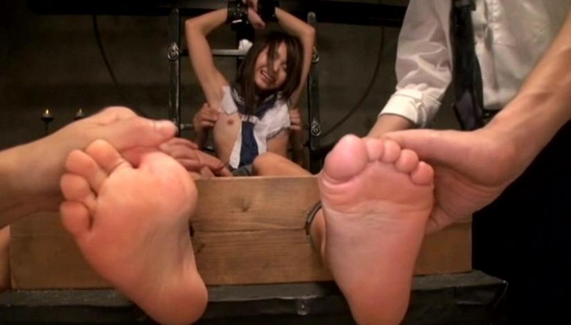 全身くすぐり体罰 篠めぐみの脚フェチDVD画像3