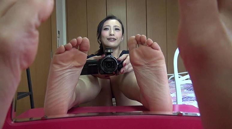 自分で自分の足の裏を撮影した女の子。 2の脚フェチDVD画像6