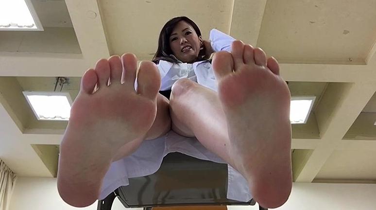 自分で自分の足の裏を撮影した女の子。 2の脚フェチDVD画像5