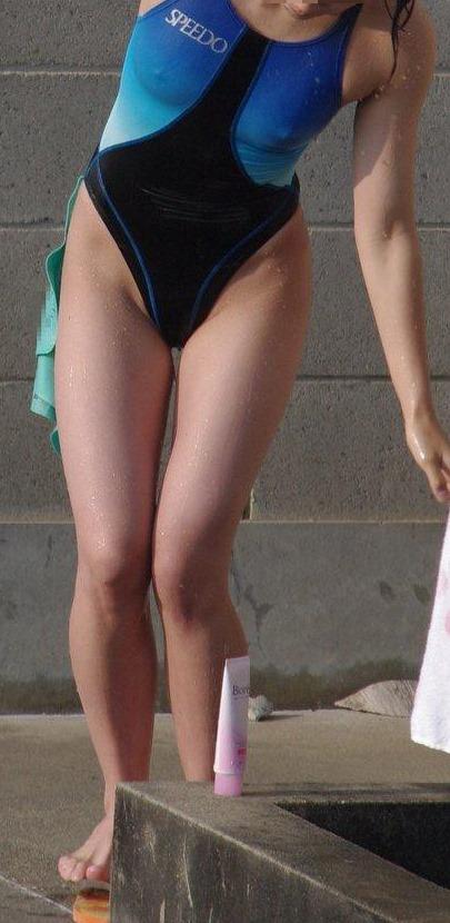 (裸よりHな学生スイマー競泳ミズ着写真・ムービー)チクビポッチお尻や股間の食い込み☆