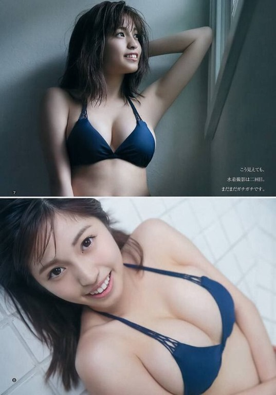 【CHERRSEE・MIYUの過激セクシーボディー】(ヤンマガ・乳房)エロ画像40枚!