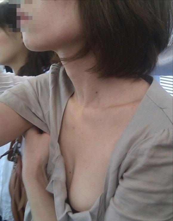 胸チラ30