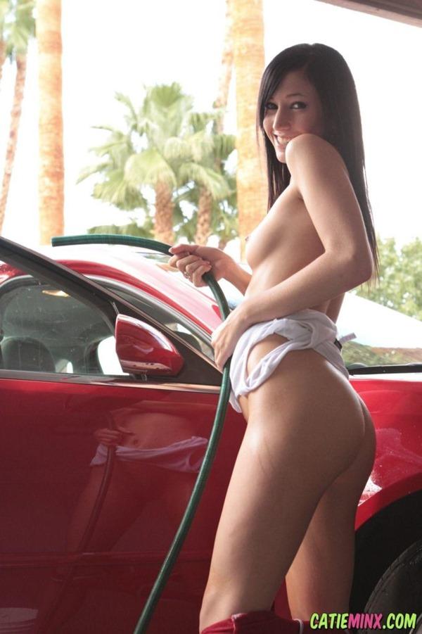 洗車ガール5