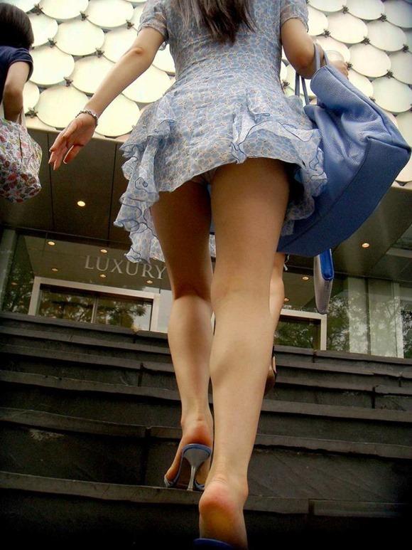 階段パンチラ25