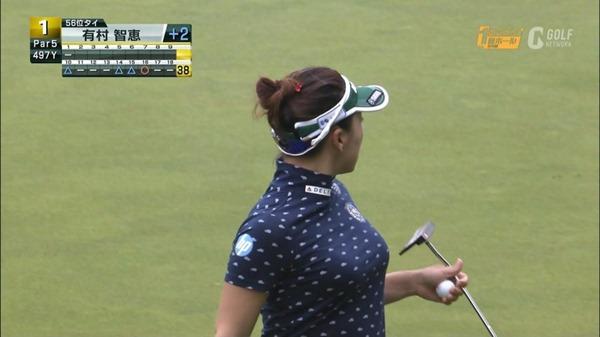 ゴルフ中継パンチラ20