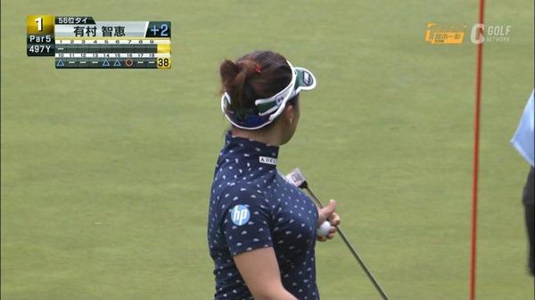 ゴルフ中継パンチラ21