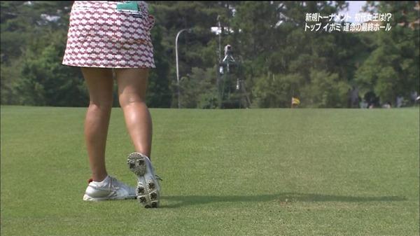 ゴルフ中継パンチラ6