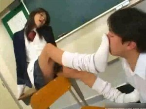 女子校生の足の匂い