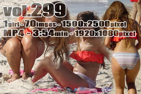 ■ ■vol299-色気たっぷりむっちりグラマービキニ日焼けアジアンギャル(画像&動画)