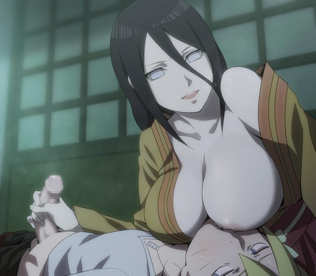 【二次元】日向ハナビの授乳手コキエロ画像【BORUTO】