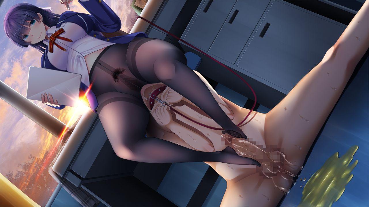 【二次元】汐月眞奈美の顔面騎乗足コキエロ画像【恋と××のフェムドム】