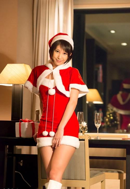 湊莉久 サンタコスプレ S-Cute 05