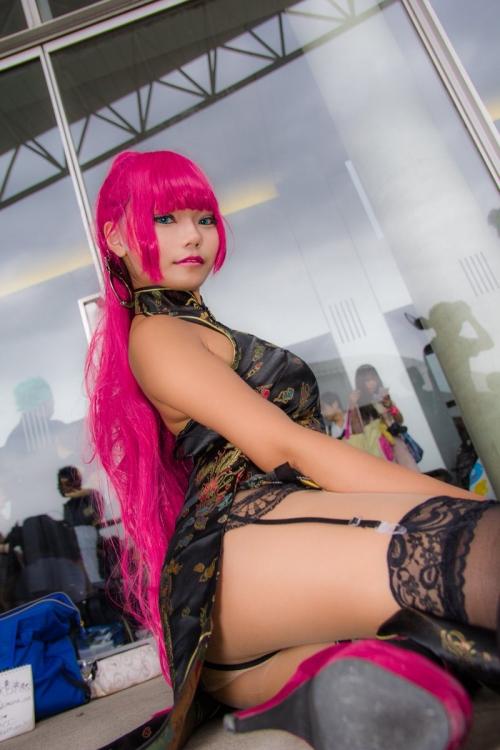 TGS2017 東京ゲームショウ コスプレイヤー 54