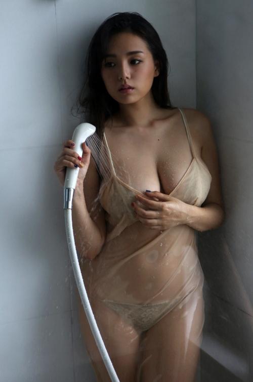 濡れ透け ウェット&メッシー 43