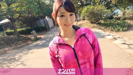 【ナンパTV】ジョギングナンパ 05 in お台場 はるか 21歳 フリーター 1