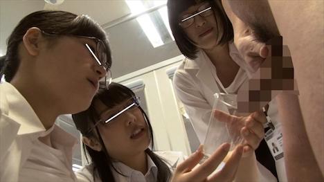 「どうすれば一度に精子がたくさん出せるのか?」をSOD女子社員3名が真面目に検証してみた結果ものすごい射精が撮れました!SOD性科学ラボ レポート1 高野シズカ
