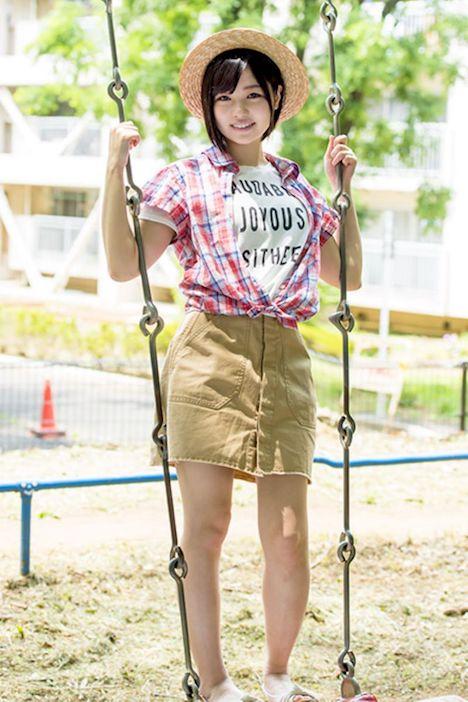 「恥ずかしくていっぱい笑っちゃいました」鮎川つぼみ 19歳 SOD専属AVデビュー 1