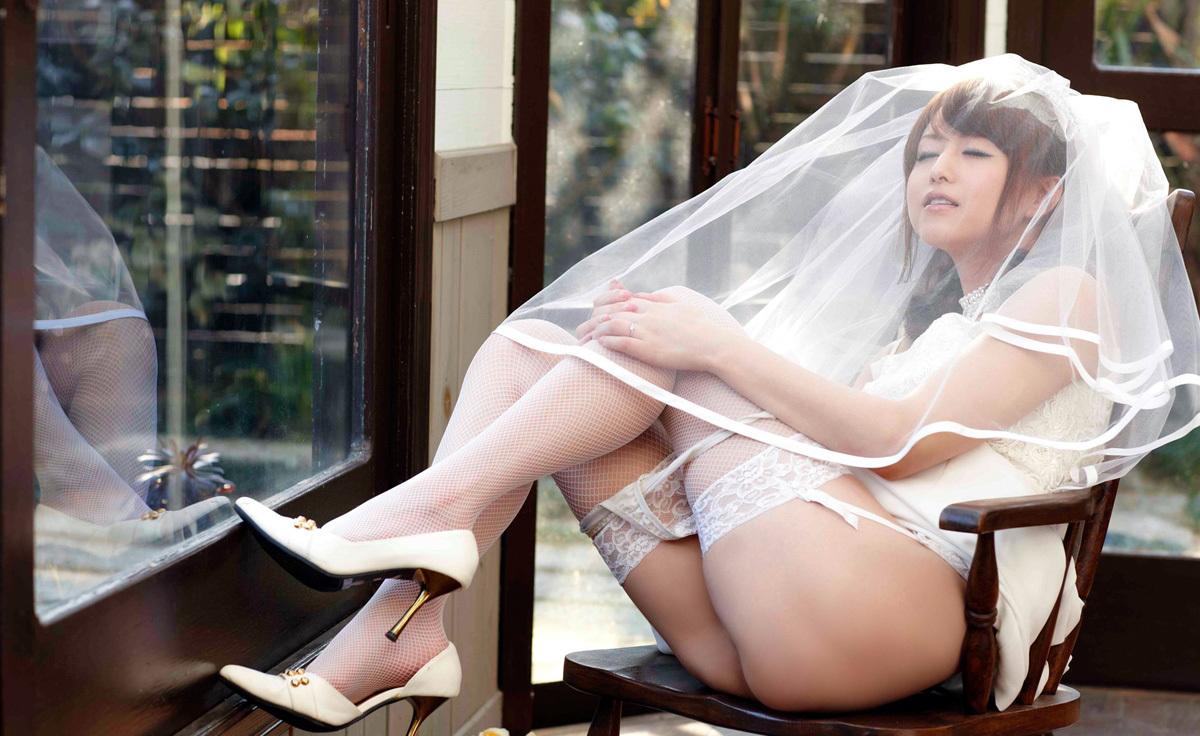【No.34407】 ウェディングドレス / 吉沢明歩