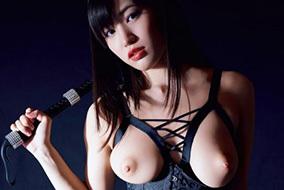 高橋しょう子 「ひとりSM」珍しいボンデージ姿での妖艶ヌードグラビア