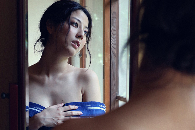 美麗グラビア × 杉本有美 浴衣姿の綺麗なお姉さん